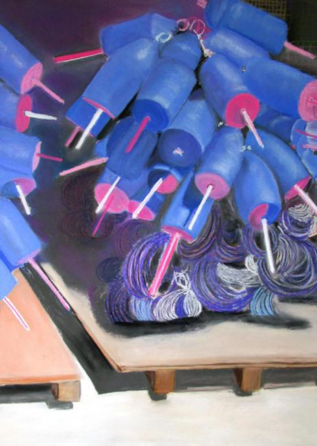 Purple Buoys